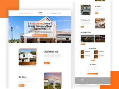 Pizza Company website restaurant web ui design website design and graphic elements illustration ui ux pizza
