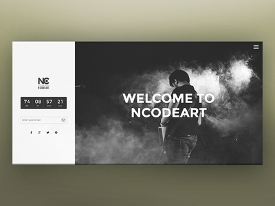 NC-Attract Coming-Soon Page coming-soon under-construction web design template ncodeart attract nc