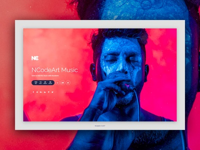 Acute Coming Soon Template ncodeart nc creativity template design 3d album event template app design ui design web design music coming soon