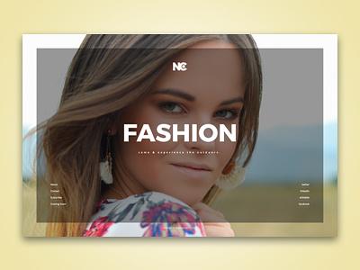 Fashion Vibe promotion brand fashion ui design template web ui info site minimal site product launch maintenance coming soon