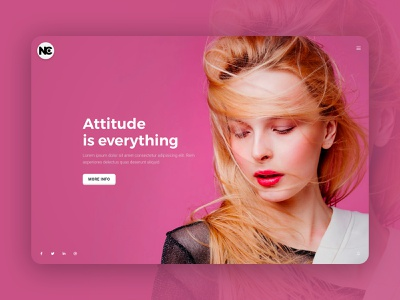 Creative One Page HTML Template uiuxdesign uiux website concept creative design website website design layout minimal site web ui design ui web design creative