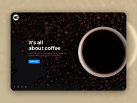 SledeShow Coffee Web Template