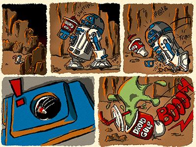 R2D2's Tragic Trip