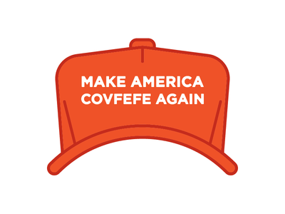#Covfefe america icon hat trump covfefe