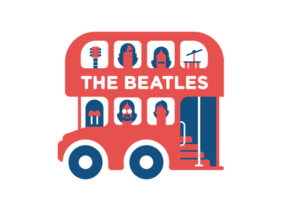 I've Got Blisters on Me Fingers london drums guitar walrus bus beatles the beatles the uk uk