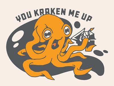 30 Minute Challenge - Pun (You Kraken Me Up) octopus kraken pun
