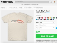 Get Your Music City T-Shirt (Or other gear!)