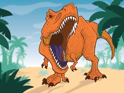 More Dinosaurs! drawing texture trex dinosaur dino dina illustration