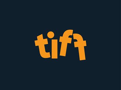 The Tiff Creative Studio Logo typography vector logo branding design logo design branding design