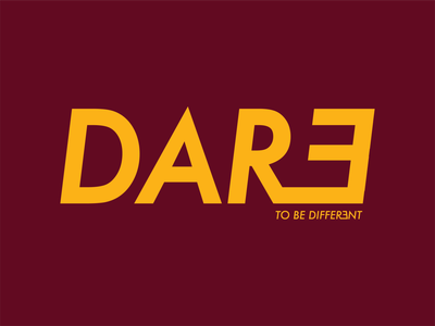 Dare Logo logo typography branding design logo design branding design