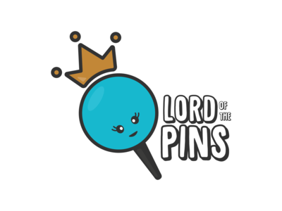 Lord of the Pins Logo Design