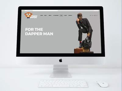 Dapper Monkey Website (Kenya)