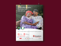 MoneyGram Poster Design