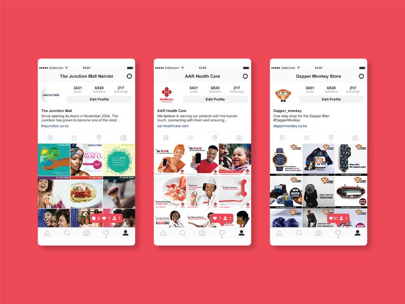 Instagram Post Design branding design instagram posts instagram digital marketing