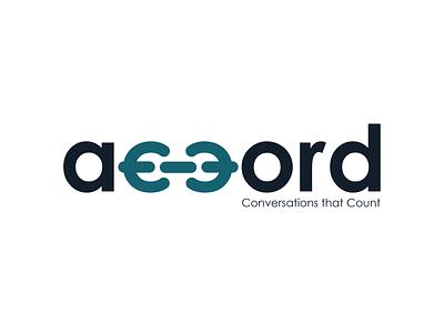 Accord Brand Identity logo typography logo design branding
