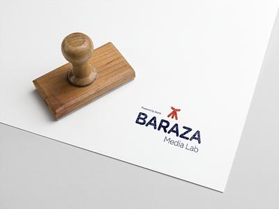 Baraza Media Lab Logo Design logo design logo illustration branding