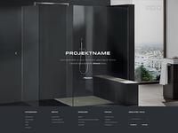 Bathroom Designer - Project Slider