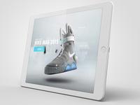 Nike Air Mag - Web Concept (2015)