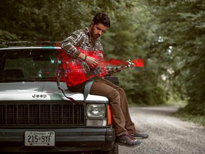 Guitar Glitch man experimental digital guitar glitch
