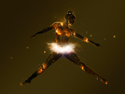 Dance of the Planets: Saturn saturn ballet dance women stars sky planets space galaxy atmosphere