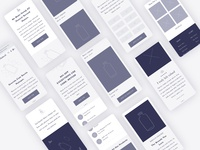 Natural wireframe - Mobile