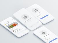 Blog App Concept UI