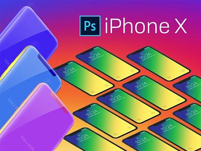 iPhonex PSD freedownload iphonexpsd ui ios mockup apple psd iphonex