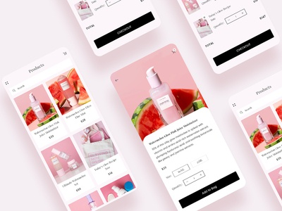 Beauty Care Products App
