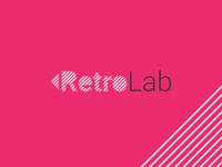 RetroLab - Early branding idea