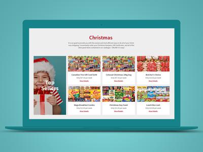 Santas Choice responsive ecommerce web design ux ui layaway christmas