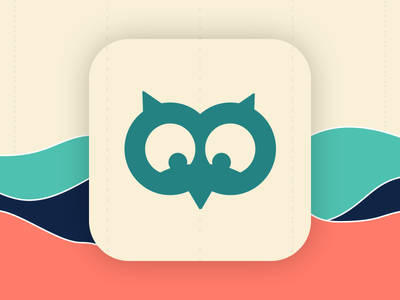 Daily UI #005 - App Icon ux form web eccemedia daily ui app icon icon app data chart owl