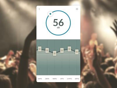 Daily UI #007 - Settings ux web eccemedia daily ui icon app data equaliser music