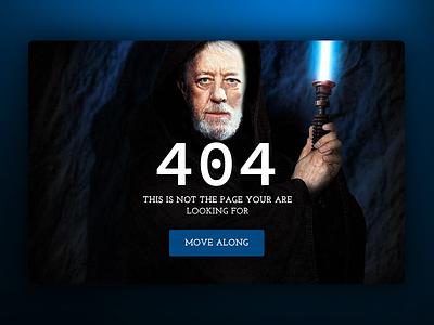 Daily UI #008 - 404 error 404 error star wars 404 icon daily ui eccemedia web ux