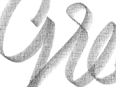 Green typography logo art lettering
