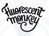 Fluorescent Monkey, process view