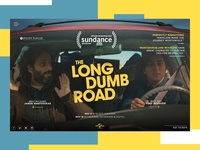 The Long Dumb Road Website Redesign