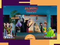 Hotel Transylvania 3 Website Redesign