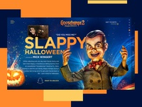 Goosebumps 2 Website Redesign