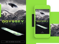 Odyssey Collection Mobile Design