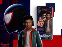 Spider-Man: Into The Spider-Verse Mobile ReDesign