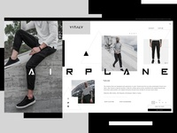 Vitaly Website Design Concept