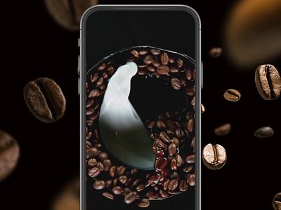 Nescafe 3 in 1 Bim Instagram Reels coffe animation coffe erdem ozkan bim aktuel motion graphics animation reels instagram bim nescafe