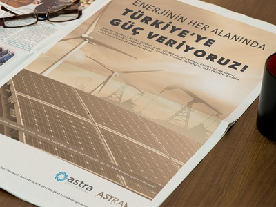 Astra Energy Newspaper Adv