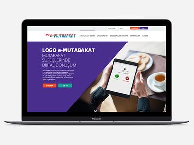 Logo E-Mutabakat Landing Page