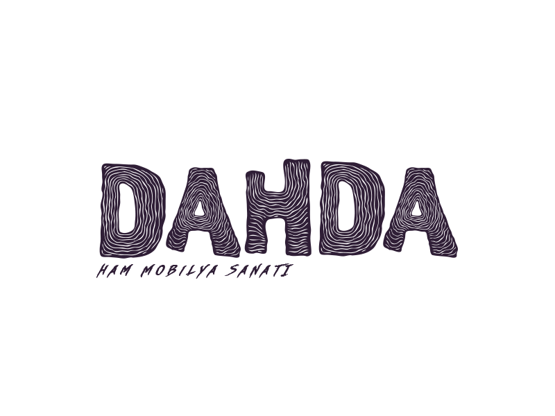 Dahda Furniture Branding mobilya logo icon flat minimal branding furniture dahda