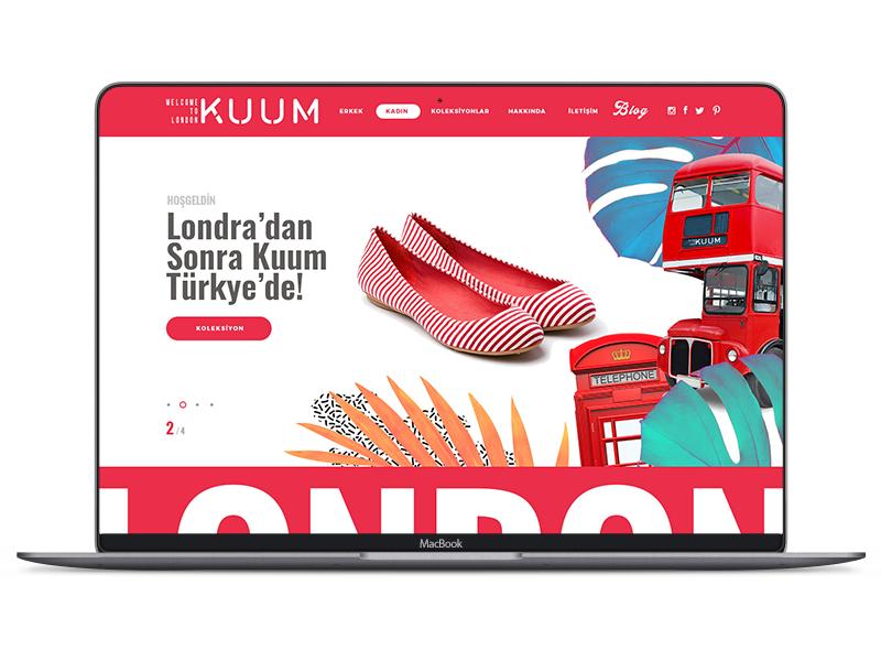 Kuum Shoes Web responsive flat erdemozkan minimal london siltab web shoes kuum