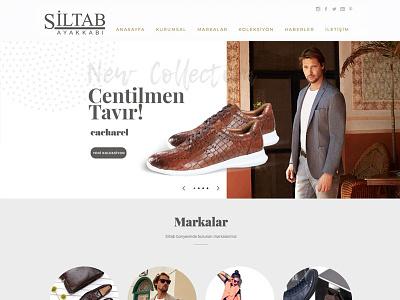 Siltab Shoes Web clean responsive minimal erdemozkan kuum pierrecardin shoekutu cacharel web shoes siltab