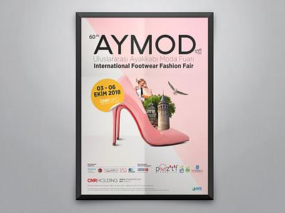 AYMOD Fair Poster poster fair aymod ayakkabı istanbul shoes