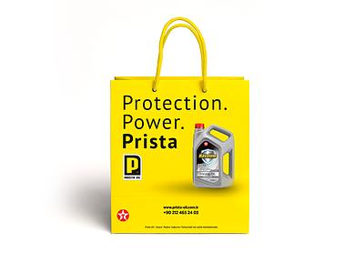 Prista Oli Bag identity yellow çanta pristaoil bag