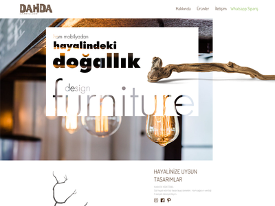 dahda.co Web Design